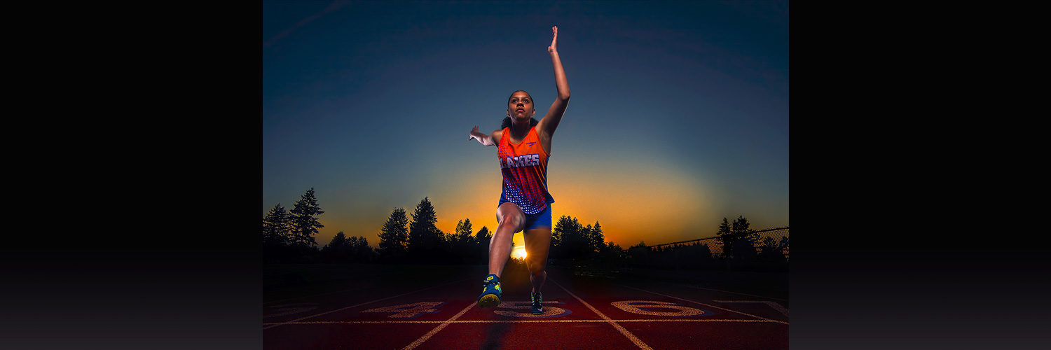Lakes Lancers Track - Isabell Pannell