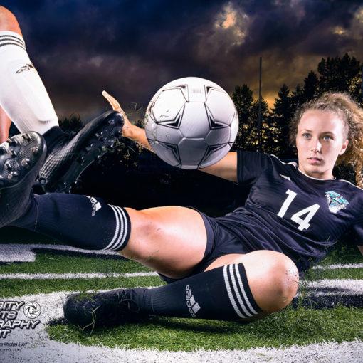 Carleigh DeLapp Bonney Lake Girls Soccer